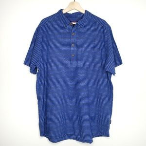 Patagonia Back Step Pullover Button Shirt